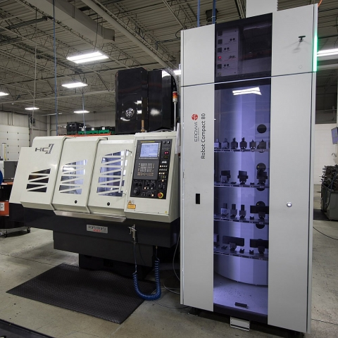Sinker EDM Machining Center